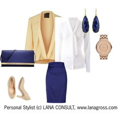 Stay cool! Formal outfit Smart Casual - Warm Spring - Set 2 (c) lanagross.com on Polyvore