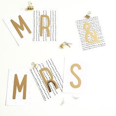Meaningful messages with our Lovely Letters. Black, white, gold, dots, lock Foto: @sofarsosabine