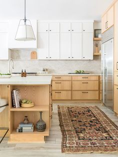 We Found a Contemporary Alternative to Shaker Cabinets in This Kitchen Reno