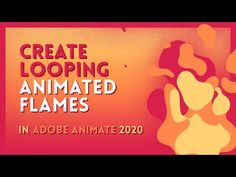 Time to create some looping flames in Adobe Animate! I did this at but I HIGHLY recommend animating at or Let's do it! Thanks for watchin. Adobe Animate, Animation Tutorial, Lets Do It, 2d, Drawing, Create, Youtube, Ideas, Design