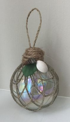 A personal favorite from my Etsy shop https://www.etsy.com/listing/549465470/nautical-christmas-ball