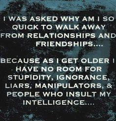 Stupidity gets on my nerves