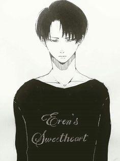 Eren x levi | 'eren's sweetheart' (1)