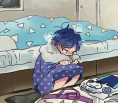 Rei Ryugazaki Nagisa Free, Free Eternal Summer, Free Iwatobi Swim Club, Kyoto Animation, Haikyuu Characters, Cheer You Up, Manga, Anime, Makoto Tachibana