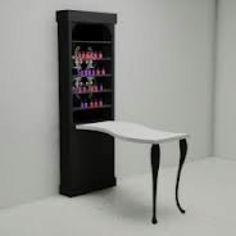Manicure station... like this idea
