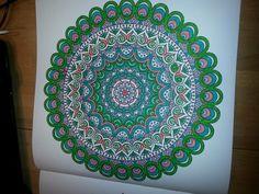 2e enige echte mandala kleurboek
