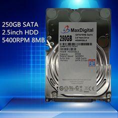 [Visit to Buy]  2.5inch HDD 250GB 5400Rpm 8M Buff SATA Internal Hard Disk Drive For Laptop Notebook MaxDigital/MD250GB SATA 2.5inch #Advertisement