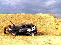 """Дакар по-українськи"" Херсон 2013. Олешковские пески. #rentSixt #SixtUkraineTeam #thebestcarrentalcompany #прокатавтовукраине #арендаавтомобилей"