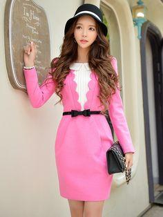 Morpheus Boutique  - Rose Pink Color Petals Matching Cloth Fashion Designer Dress, $139.99 (http://www.morpheusboutique.com/new-arrivals/rose-pink-color-petals-matching-cloth-fashion-designer-dress/)