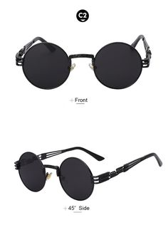 80b732bff758a Designer Boho Style Steampunk Style Sunglasses – Available in 10 Colors. Pink  MirrorGreen ...