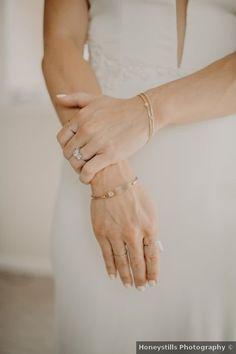 Wedding accessories ideas - gold, bracelet, ring, summer {Honeystills Photography} Wedding Day Jewelry, Wedding Jewelry, On Your Wedding Day, Summer Wedding, Purple Orchids, Wedding Dress Accessories, Watercolor Wedding, Floral Watercolor, California Wedding