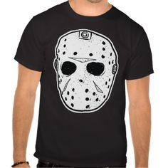 Classic fiberglass goalie mask that hockey players and horror legends wear.