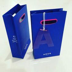 ADER  Blue  mini bag for receipt