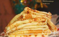 Блины на молоке и сливках | Кулинарные рецепты от «Едим дома!»