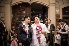 Hochzeitsfotos in Dresden im Kulturrathaus Königstraße