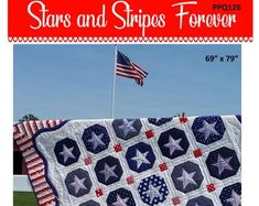 Create a Stunning Rose Quilt with Fabric Squares - Quilting Digest Pattern Blocks, Quilt Patterns, Folded Paper Stars, Texas Quilt, Picnic Quilt, Patriotic Quilts, House Quilts, Fabric Squares, Easy Quilts