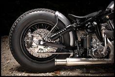 Harley-Davidson Shovelhead Chopper | 1979 HARLEY DAVIDSON FX SHOVELHEAD /SPEEDKING USA/ BOBBER MATCHING ...