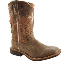 Twisted X Boots Infants' CTH0001 Cowboy Boots,Worn Bomber/Distressed Natural,10 M US Twisted X Boots. $94.95