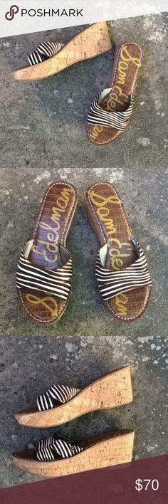 54499914a5b66a Spotted while shopping on Poshmark  Zebra print Sam Edelman Sandals NWT!   poshmark