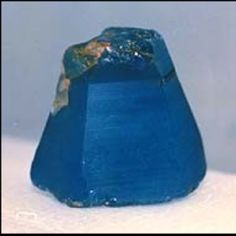 "Sapphire  ""The foundations of the city walls were decorated with every kind of precious stone. The first foundation was jasper, the second sapphire...  Revelation 21:19"