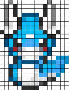Dratini Perler Bead Pattern / Bead Sprite