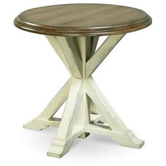Universal Furniture Great Rooms Garden End Table ($485) ❤ liked on Polyvore featuring home, furniture, tables, accent tables, grey, gray side table, patio side table, grey accent table, gray accent table and patio furniture