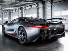 The Cancelled Jaguar C-X75 Hybrid Supercar Will be Driven by Villain in Next James Bond Movie 'Spectre'