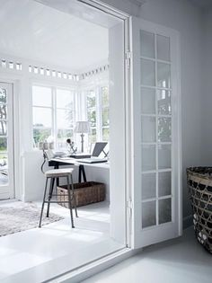 Vestibule style home office