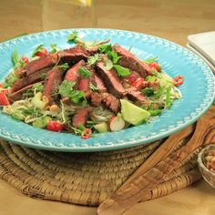 Thai beef sallad
