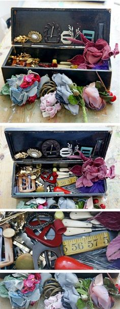 WHO DOESN'T LOVE A GOOD RUMMAGE!? - Great ideas for a nostalgic memory box for dementia care.