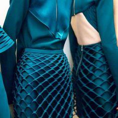 new york fashion week Couture Mode, Style Couture, Couture Details, Fashion Details, Couture Fashion, Fashion Design, Fashion Trends, Fashion Ideas, New York Fashion