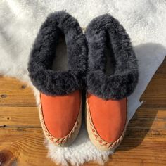 6bed0c4cdff65 41 Best Sheepskin slippers images in 2018 | Sheepskin slippers ...