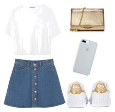 """Başlıksız #25"" by elif-buglem-akyol on Polyvore featuring moda, Vince, Monki, adidas Originals, Michael Kors ve ETUÍ"