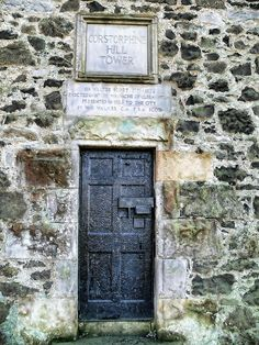 Corstorphine Hill Tower, Edinburgh - dedicated to Sir Walter Scott