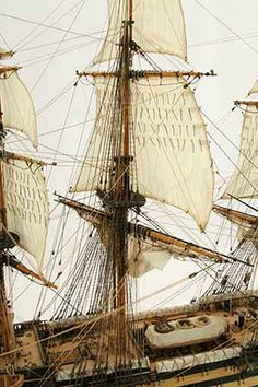 Close-up photos of ship model HMS Wellesley. HMS Wellesley was launched at Bombay in 1815 as a 74 gun ship. Old Sailing Ships, Hms Victory, Close Up Photos, Model Ships, Horses, Plastic, Wood, Ships, Wooden Boat Plans