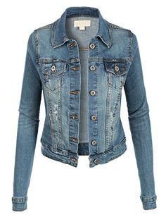 LE3NO Womens Vintage Long Sleeve Denim Jean Jacket with Pockets LE3NO http://www.amazon.com/dp/B0160F7Y6G/ref=cm_sw_r_pi_dp_0rI0wb0A2HB83