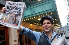 Newsies Musical hits the big screen in 2017 joining JeremyJordan from the original Broadway cast include: Kara Lindsay, Ben Fankhauser, Andrew Keenan-Bolger Broadway Theatre, Musical Theatre, Broadway Shows, Broadway Nyc, Musicals Broadway, Neil Patrick, Jack Kelly, The Rocky Horror Picture Show, Theatre Nerds
