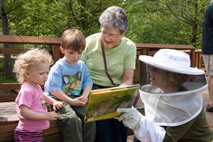 Garden Story Time  #kids #nature #play #education