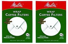 Melitta White Wrap Around Coffee Filter for Percolator Pack of 2 >>> Click image for more details.Note:It is affiliate link to Amazon.