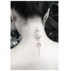 Ideas Tattoo Arrow Geometric Dr Woo Tatoo For 2019 Arrow Tattoos, Star Tattoos, Mini Tattoos, Trendy Tattoos, Body Art Tattoos, Sleeve Tattoos, Tatoos, Cross Tattoos, Couple Tattoos