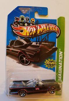 Adam West Original Signed Batmobile Hot Wheels Batman New In Package   Entertainment Memorabilia, Autographs-Original, Television   eBay!