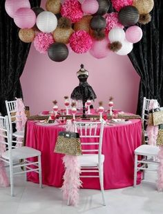 This looks like such a fun party! Bachelorette party decor? Cute!!