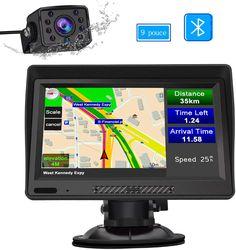 GPS Voiture Auto Europe 7 Pouces Syst/ème de Navigation Automatique /à Ecran Tactile Cartographie Europe 52 /à Vie Cam/éra de recul Mises /à Jour gratuites de la Carte /à Vie