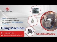 Video about Tube Filling Machine which Can handle tube diameters from 10 mm to 40 mm and lengths from 40 mm to 200 mm. ~ Automatic tube infeed with cassette loader. Visit at http://www.bhagwatipharma.com/automatic-tube-filling-machine/ to know more.