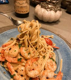 One Pot Pasta, Linguine, Pasta Scampi, Seafood Recipes, Italian Recipes, Tapas, Good Food, Food And Drink, Healthy Recipes