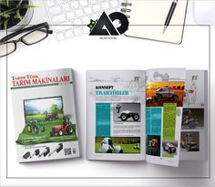 Agricultural Magazine Cover & Layout