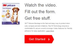 FREE $$ Sample of 3M Petcare Bandages!
