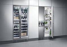 In een Gaggenau Keuken blijven de producten als wijn, fruit en groente ... #appliances #gaggenau #kitchen Pinned by www.modlar.com