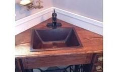 Creative ways to reuse your old sewing machine table – The Owner-Builder Network Old Sewing Machine Table, Old Sewing Machines, Sewing Table, Small Bathroom With Shower, Repurposed Items, Decorating On A Budget, Unique Furniture, Reuse, Budgeting