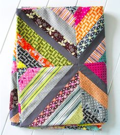 String Quilts for putting scraps to use